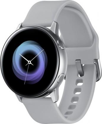 Chytré hodinky Samsung Galaxy Watch Active R500, stříbrná/bílá