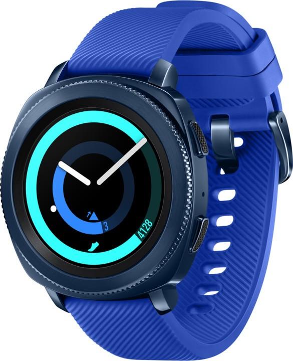 Chytré hodinky SAMSUNG Gear Sport, Blue