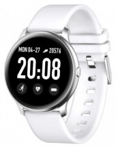 Chytré hodinky Smartomat Roundband 2, bílá