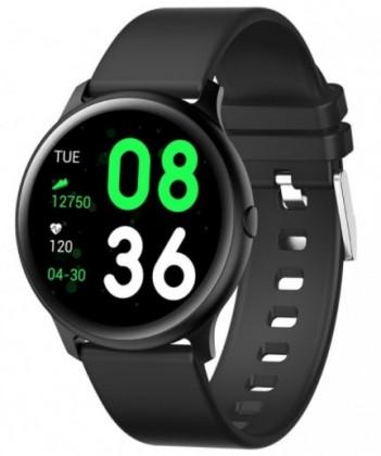 Chytré hodinky Smartomat Roundband 2, černá