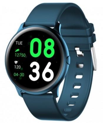 Chytré hodinky Smartomat Roundband 2, modrá
