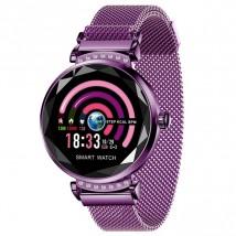 Chytré hodinky Smartomat Sparkband, fialová