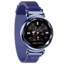 Chytré hodinky Smartomat Sparkband, modrá