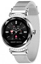 Chytré hodinky Smartomat Sparkband, stříbrná POUŽITÉ, NEOPOTŘEBEN