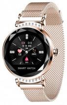 Chytré hodinky Smartomat Sparkband, zlatá