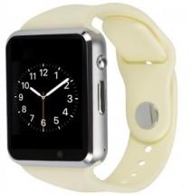 Chytré hodinky Smartomat Squarz 1, bílá