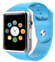 Chytré hodinky Smartomat Squarz 1, modrá