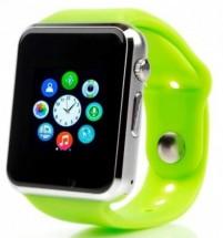 Chytré hodinky Smartomat Squarz 1, zelená