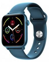 Chytré hodinky Smartomat Squarz 8 Pro, modrá