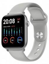 Chytré hodinky Smartomat Squarz 8 Pro, stříbrná