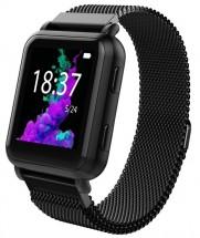 Chytré hodinky Smartomat Squarz X GPS, černá