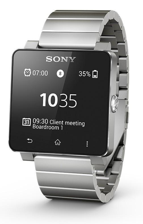 Chytré hodinky Sony SmartWatch 2 Silver