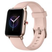 Chytré hodinky UleFone Watch Pro, růžová