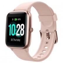 Chytré hodinky UleFone Watch, růžová