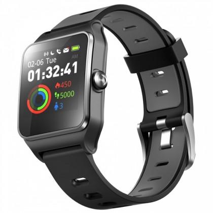 Chytré hodinky Umax U-Band P1 PRO s měřením tepu, černá