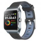 Chytré hodinky Umax U-Band P1 PRO s měřením tepu, šedá/stříbrná