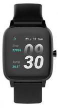 Chytré hodinky Vivax Life Fit, silikonový řemínek, černá
