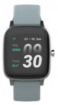 Chytré hodinky Vivax Life Fit, silikonový řemínek, šedá
