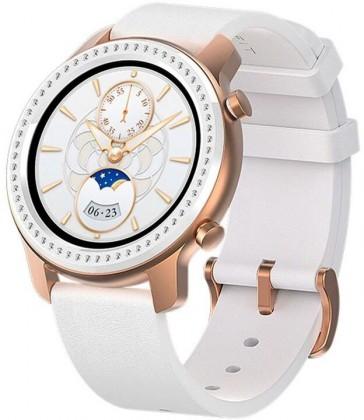 Chytré hodinky Xiaomi Amazfit GTR 42mm, bílá/zlatá