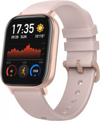 Chytré hodinky Xiaomi Amazfit GTS, růžová ROZBALENO