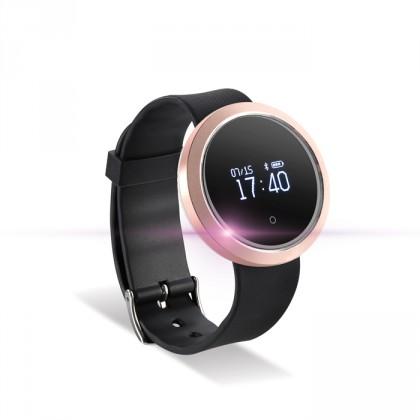 Chytré náramky Chytré hodinky Forever SB-310, růžovozlatá