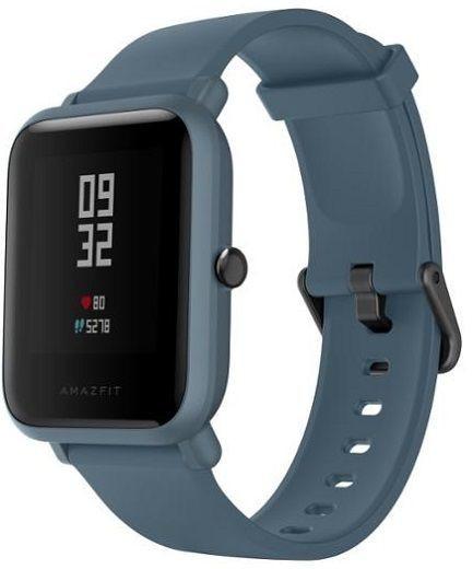 Chytré náramky Chytré hodinky Xiaomi Amazfit Bip Lite, modrá