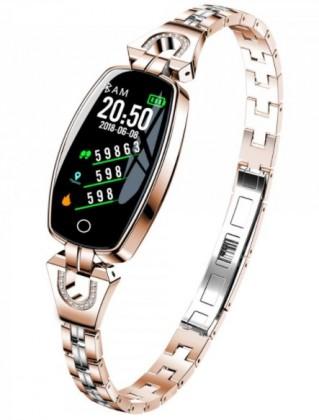Chytré náramky Chytrý náramek Smartomat Chicband, zlatá