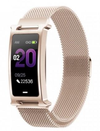 Chytré náramky Chytrý náramek Smartomat Silentband 2, zlatá
