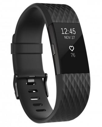 Chytré náramky Fitbit Charge 2 L, black
