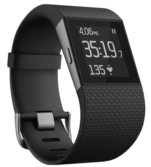 Chytré náramky Fitbit Surge Large Black