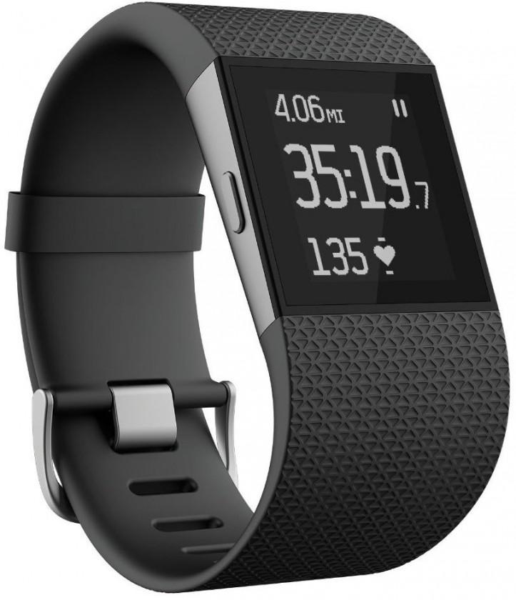 Chytré náramky Fitbit Surge Small Black