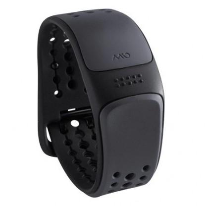 Chytré náramky MIO Link náramek, senzor srdečního tepu, dlouhý pásek - šedý