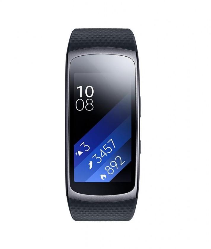 Chytré náramky Samsung Galaxy Gear Fit 2 SM-R360, dark grey