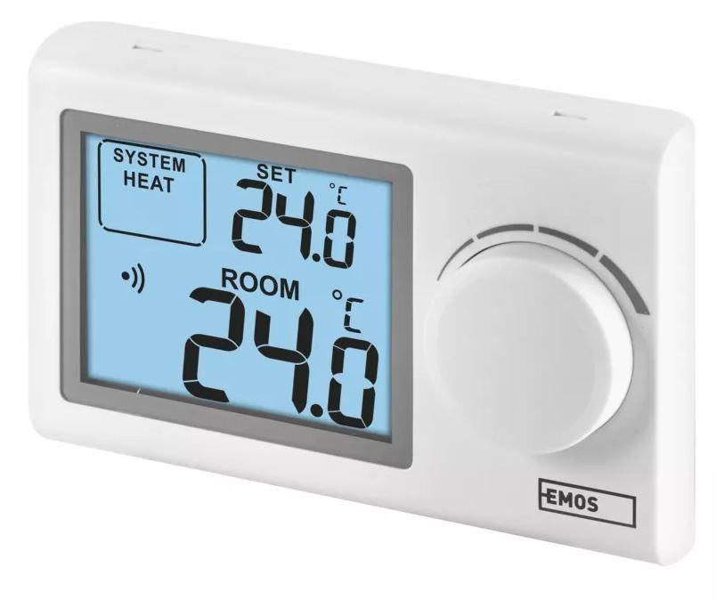 Chytré termostaty Pokojový termostat Emos P5614, bezdrátový