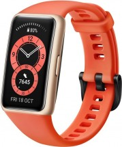 Chytrý náramek Huawei Band 6, oranžová