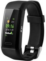 Chytrý náramek Niceboy X-Fit GPS, černá