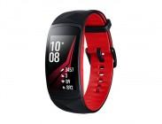 Chytrý náramek Samsung Gear FIT 2 PRO, černá/červená