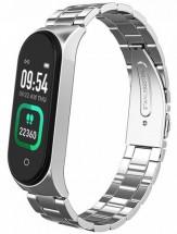 Chytrý náramek Smartomat Sunset 4 Pro, stříbrná