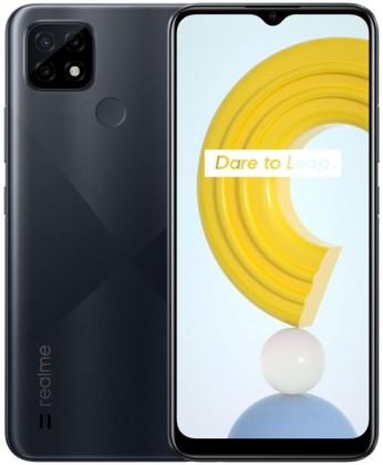 Chytrý telefon Mobilní telefon Realme C21 NFC 4GB/64GB, černá