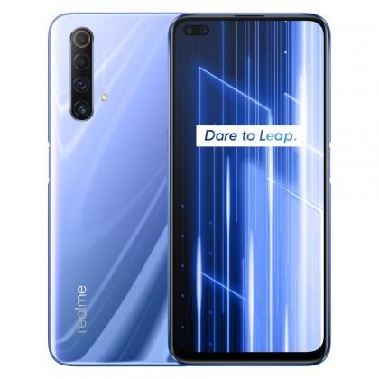 Chytrý telefon Mobilní telefon Realme X50 5G 6GB/128GB, fialová