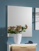 Cino - Panel se zrcadlem (bílá)