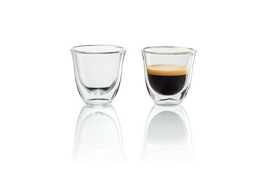 Čističe, doplňky Skleničky na kávu DeLonghi Espresso