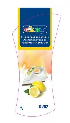 Čističe, doplňky Tekutá vůně do žehliček K&M DV02, citrón