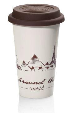 Čističe, doplňky Termohrnek na kávu DeLonghi Globetrotter