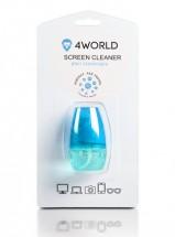 Čistící gel 4World + hadřík BLUE, 50ml