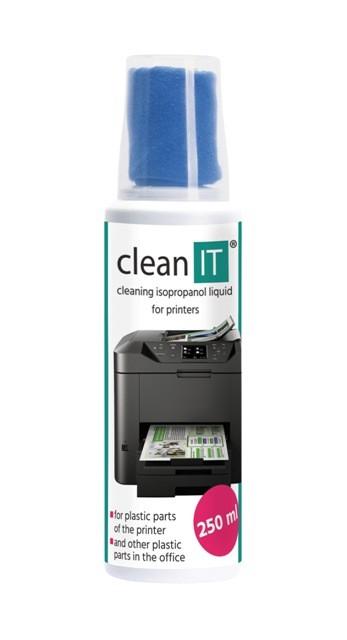 Čistící prostředky Čistící roztok na plasty s utěrkou CLEAN IT CL190, 250ml