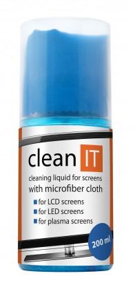 Čistící prostředky Clean IT CL-18 čistící roztok na obrazovky