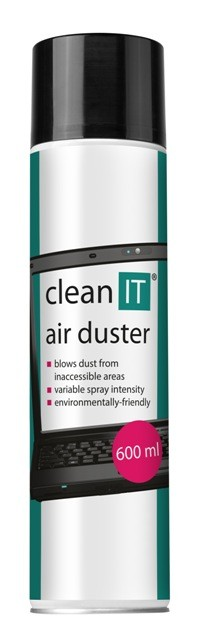 Čistící prostředky Stlačený plyn CLEAN IT CL104, 600 ml