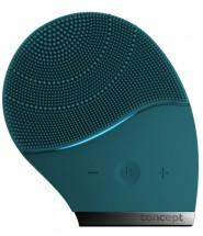 Čisticí sonický kartáček na obličej Concept SK9000, smaragd