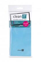 Čistící utěrka z mikrovlákna CLEAN IT CL700, velká, modrá